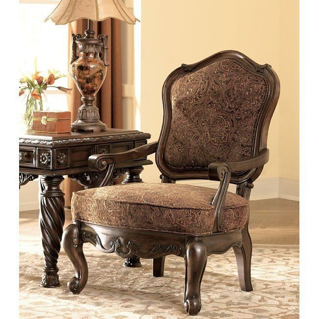 North Shore Dark Brown Showood Accent Chair Tuscan Furniture