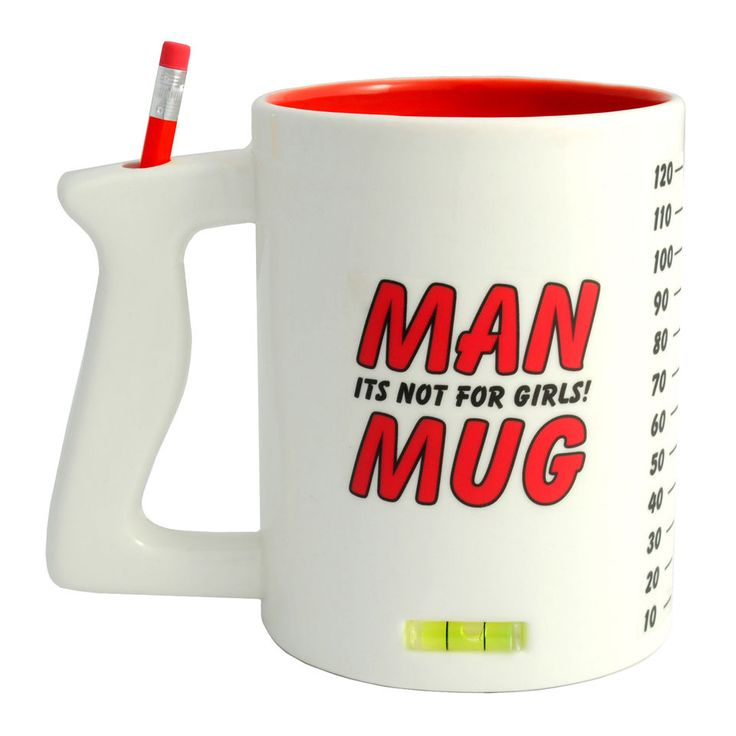 The all in one mug for the manliest of men!