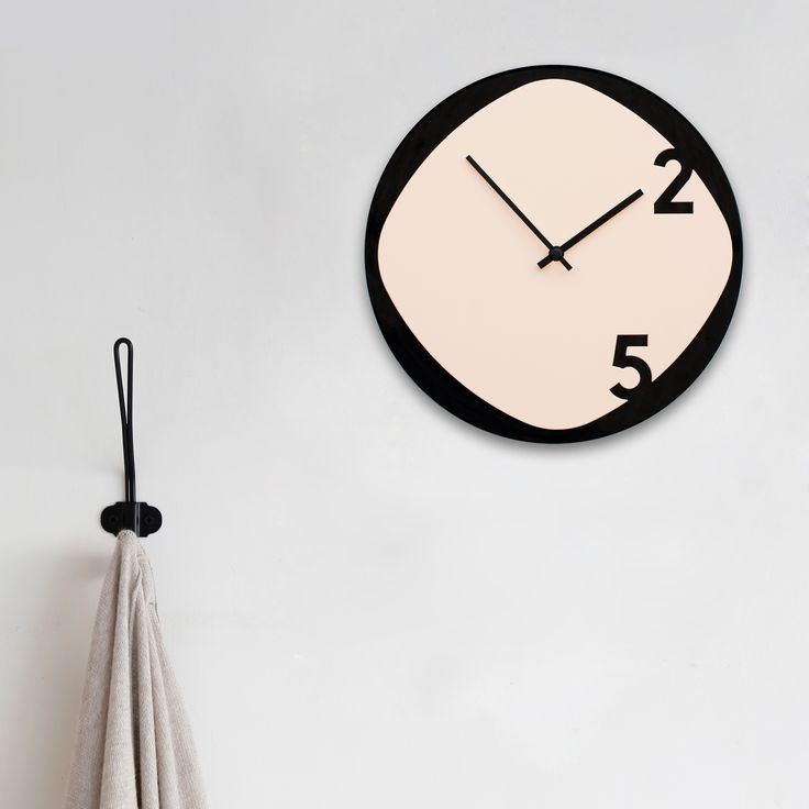 'Clock25' is a wooden wall clock consisting of two overlapping laser cut surfaces. A simple silhouette made from a natural material: wood. Produced with a combination of advanced robotic manufacturing and hand-crafted techniques, the clock is available in…