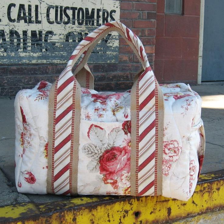 Travel Duffel Bag Pattern