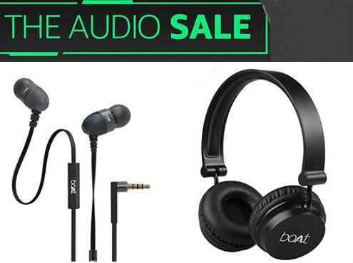 Amazon : The Audio Sale - Up to 70% off on Headphones, Speakers & More
