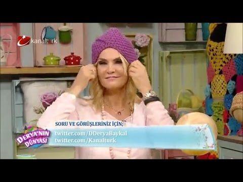 Şapka nasıl örülür – Derya Baykal - YouTube