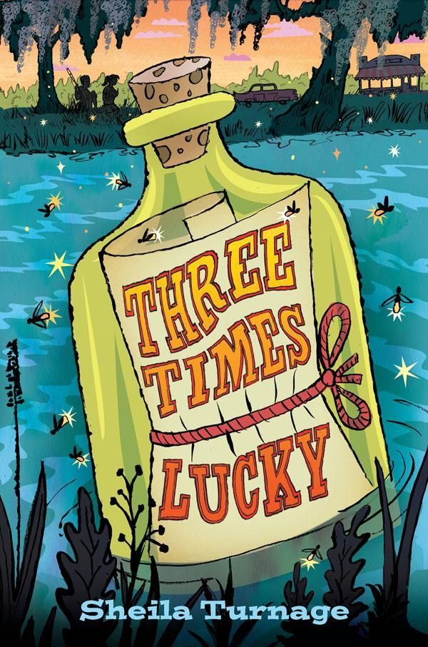 Three Times Lucky by Sheila Turnage is a fun middle grade mystery with a feisty 11 year-old protagonist.  Reviewed on Bookshelf: What We're Reading #reading #books #mysteries