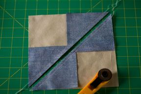 Really awesome shortcut for flying geese: Quilting Tutorials, Bloques Tutoriales, Method Tutorials, Quilts Tutorials, Geese Tutorials