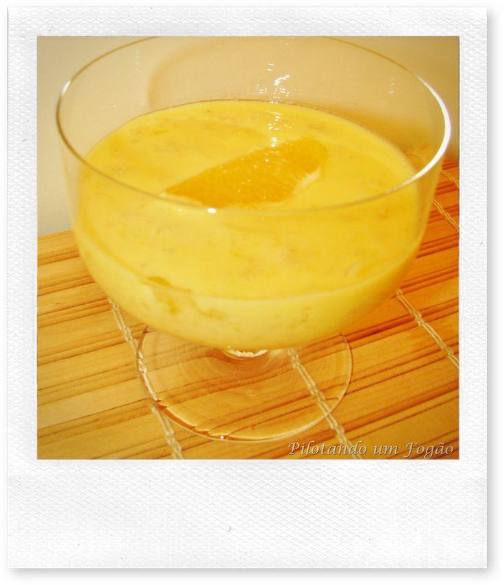 creme de laranja (serve pra outras frutas cítricas)