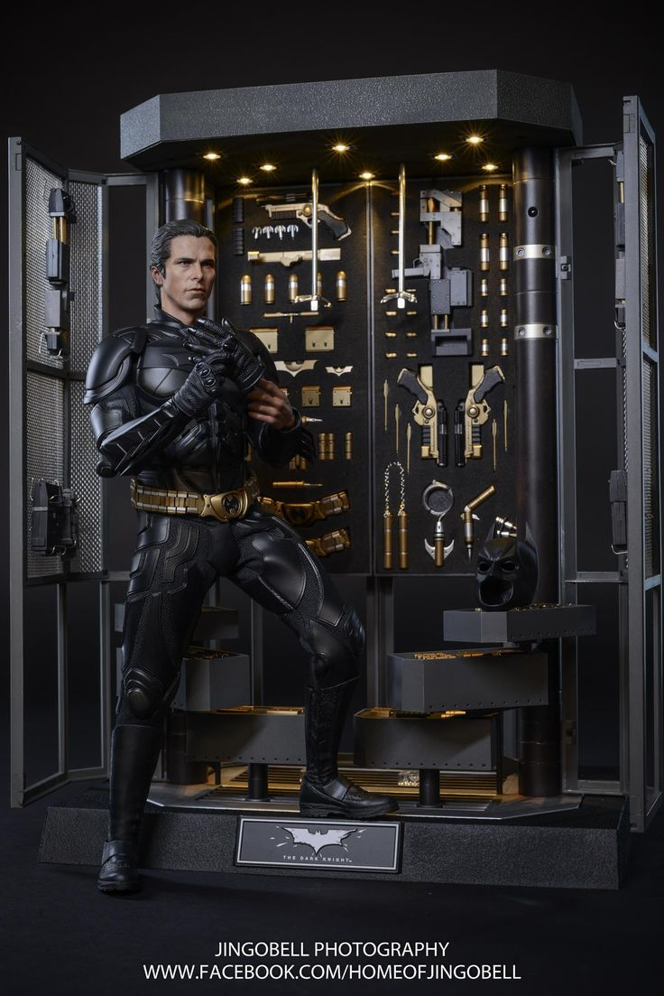 Hot Toys Batman Armory with Bruce Wayne & Alfred Set Final Product Photos