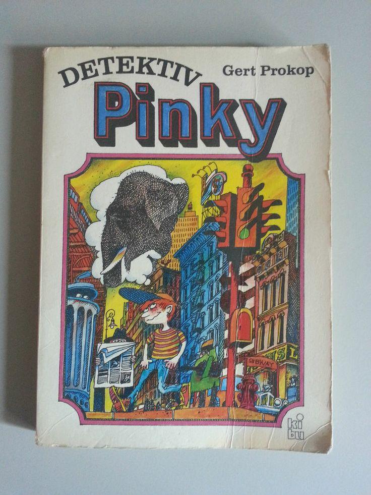 Hauptfigur des Jugendbuches von Prokop ist Absolon W. Beaver, von seinen Freunden liebevoll Pinky genannt, ein zwölfjähriger Junge, der seine Freizeit zumeist, sechs Stockwerke über der Stadt, sitzend auf seiner Mülltonne verbringt. Die meiste Zeit vertreibt sich Pinky mit Lesen oder Träumen. Sein größter Wunsch – ein anerkannter Detektiv zu werden – spiegelt sich schon in seinem selbst gewählten Spitznamen wider, eine Ableitung von Pinkerton.