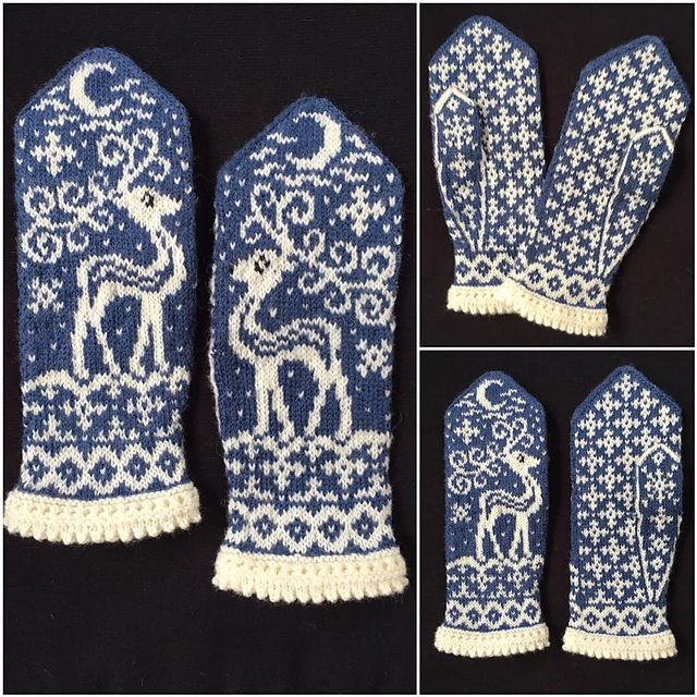 Ravelry: Midvinter (Mid Winter) pattern by JennyPenny