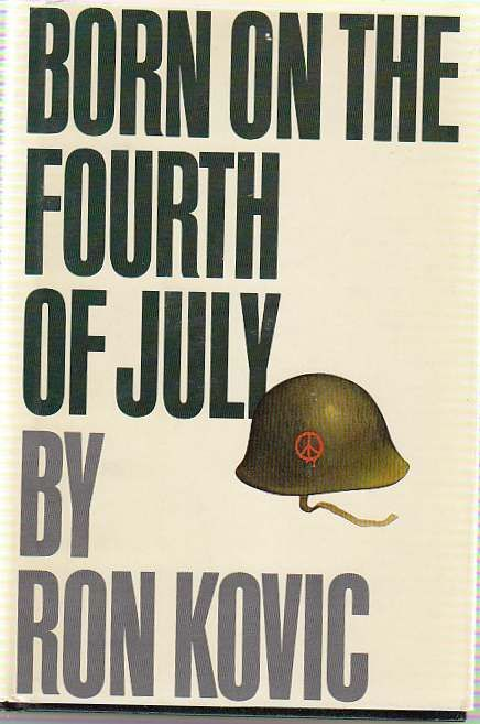 Published in 1976, this is the best selling autobiography of Ron Kovic, a paralyzed Vietnam War veteran who became an anti-war activist..