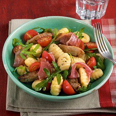 Kalbfleisch-Gnocchi-Salat Rezept | Küchengötter