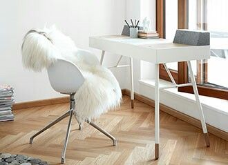 un escritorio siempre es útil en casa