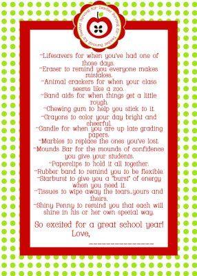 Free Printable Teacher Survival Kit -  http://i67.photobucket.com/albums/h297/justash23/jacksonteachersurvivalkit.jpg
