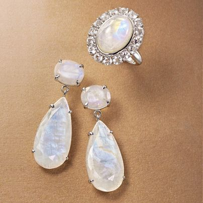 The ancient Greeks and Romans associated moonstone with several gods and goddesses. As the state stone of Florida, its thin layers let light penetrate with ease.