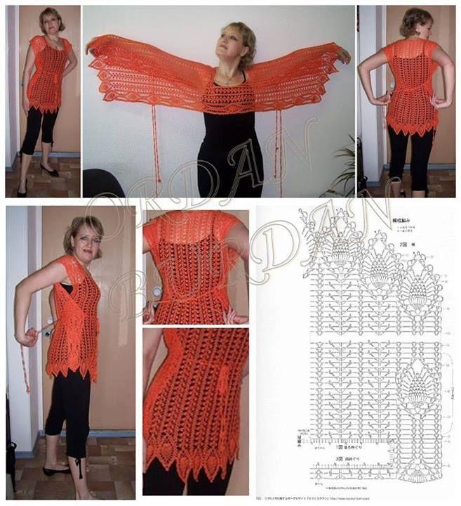 Www.chaleco crochet con patrones - Imagui