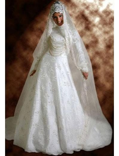 Popular wedding dress,Arabic wedding gown IM007-in Wedding Dresses from Apparel & Accessories on Aliexpress.com