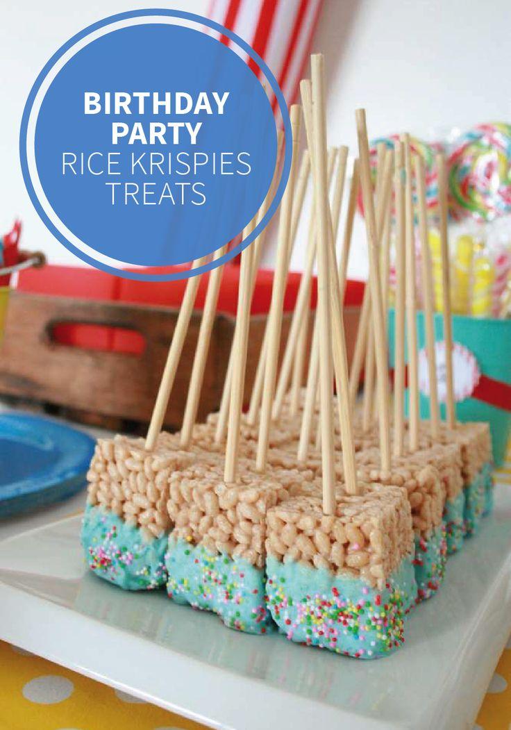 431 Best Party Ideas Images On Pinterest Rice Krispies