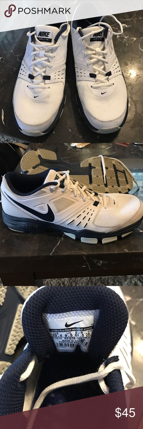 Men's slightly used NIKE Air One TR 10.5 Slightly used Men's NIKE Air One TR men's cross-training shoes. Size 10.5 Nike Shoes Athletic Shoes