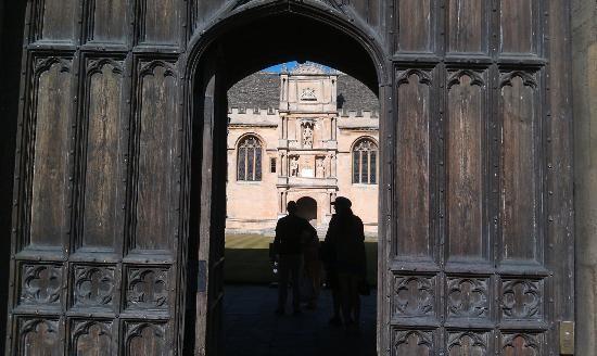 Фотография Оксфордский университет