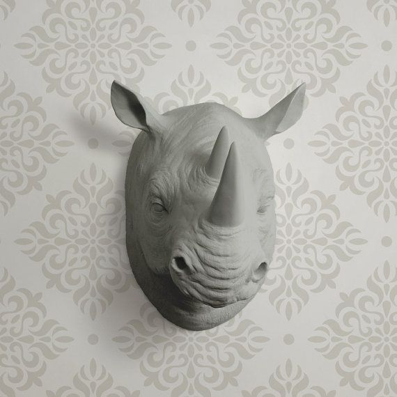Faux-rhino-head