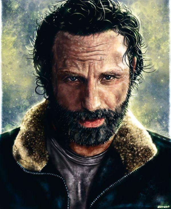The+Walking+Dead+-+Rick+Grimes+by+p1xer.deviantart.com+on+@DeviantArt