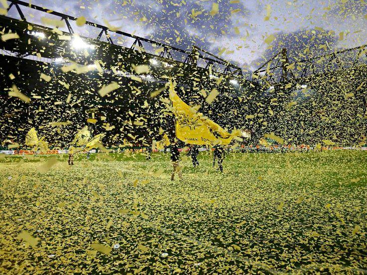 Confetti Borussia Dortmund