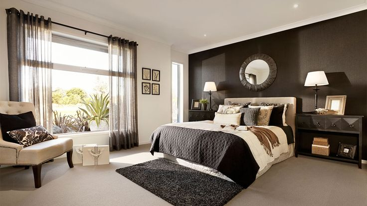 Коричневая спальня | iqpic.ru