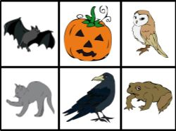 Loto / Bingo d' #Halloween