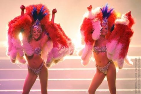 Lido de Paris tickets include a ½ bottle of champagne, a choice of four dinner menus and entrance to the show.  #Paris