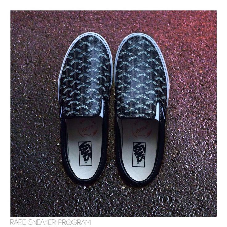 Custom Goyard Vans need!!!