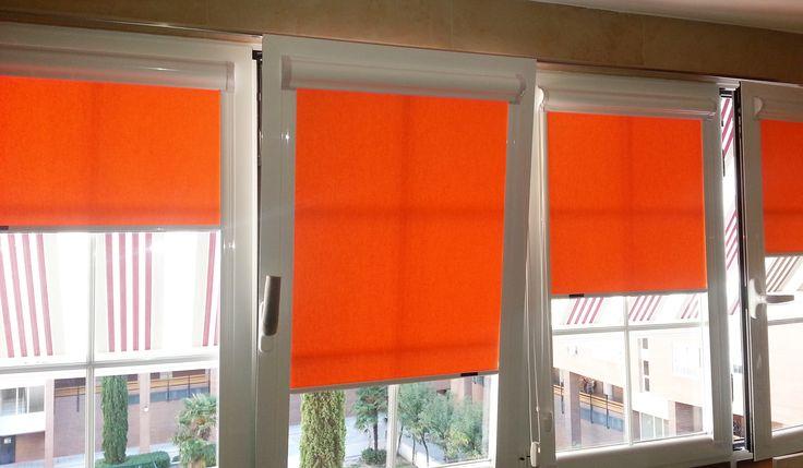 17 mejores ideas sobre cortinas de ventanas de puerta en - Colocar estores enrollables ...