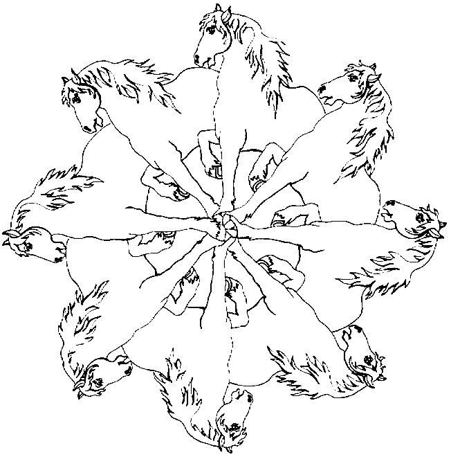 17 beste ideeën over Mandala Kleurplaten op Pinterest ...
