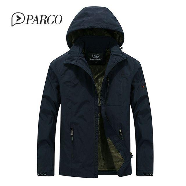 Tienda Online Hombres de la marca de clothing ejército militar para hombre chaqueta con capucha parkas camuflaje poliéster abrigo abrigos plus solid tamaño 9802 | Aliexpress móvil