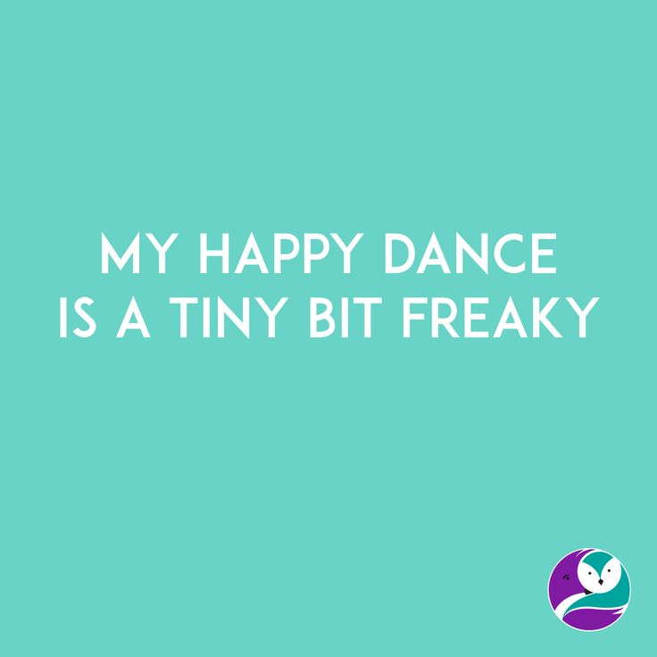 Something you may not know about me:  I've been known to break out into a geeky-freaky happy dance on a number of occasions: when I receive extra-good news, when one of my favourite songs pops up on a playlist, or when I ace something on my first attempt.  Anybody else a fan of impromptu dance parties?