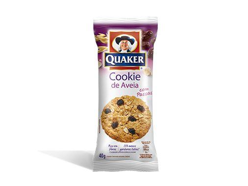 Cookies de Aveia QUAKER® sabor Passas – 40g | Quaker