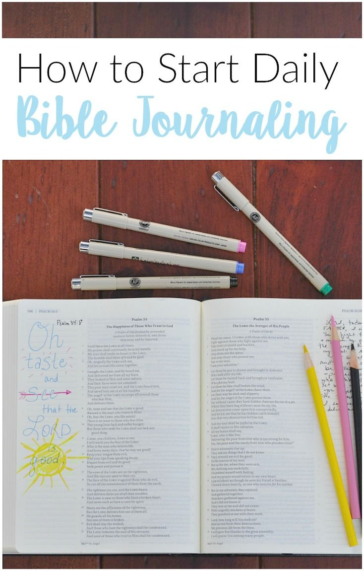 Bible Journaling | Scripture Journaling | Illustrated Faith