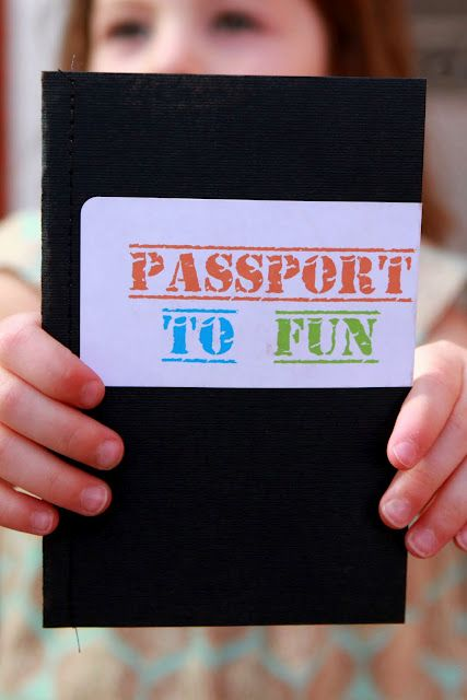 In the classroom the teacher can set of different stations or countries, and the kids get to go around and get their passport stamped in each country. Each station will be called a country and the kids will try a food or do an activity that represents that country.