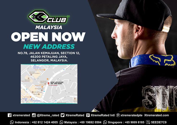 OPEN NOW! X-CLUB Malaysia | New Address No. 78, Jalan Kemajuan, Section 12, 46200 Petaling Jaya, Selangor, Malaysia |    #xtremerated #xclub #xclubmy