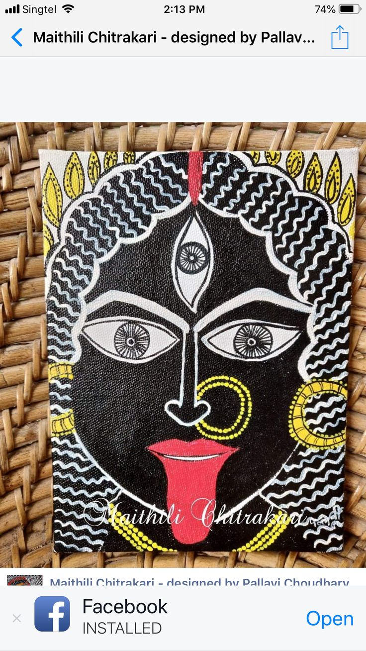 Pin by Janaki Venket on madhubani Kathakali face, Cards