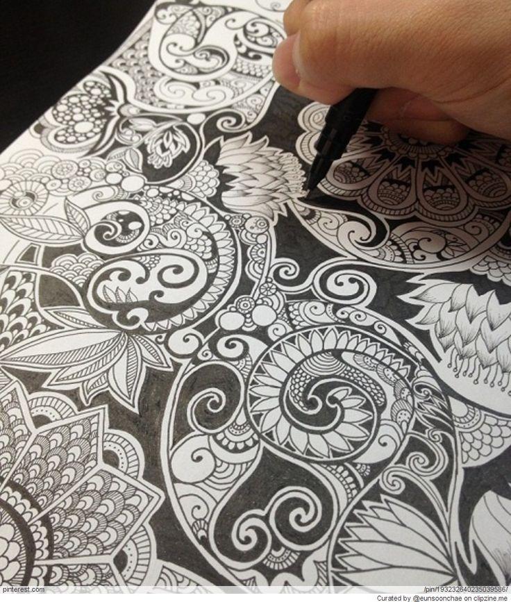Zentangle Patterns & Ideas   Zentangle patterns   Pinterest
