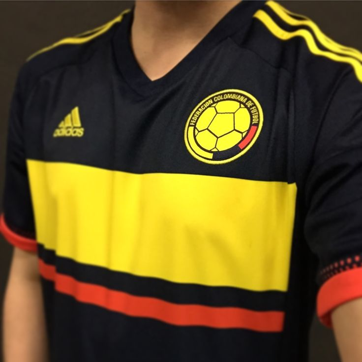 New adidas Colombia away jersey for Copa America 2015.