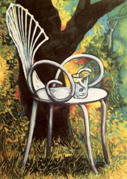 Sedia in giardino, Renato Guttuso