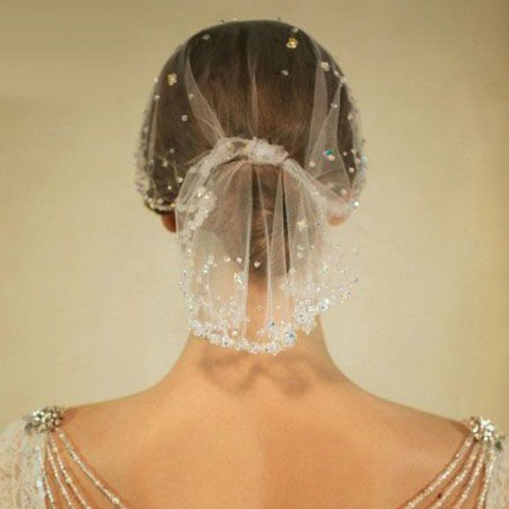 60 cm Elegant Ivory Birdcages Veil jilbab Wedding Veils with Crystal 2017 Bridal Headwear Wedding Accessories velos de novia H26 $147.00 w/sale