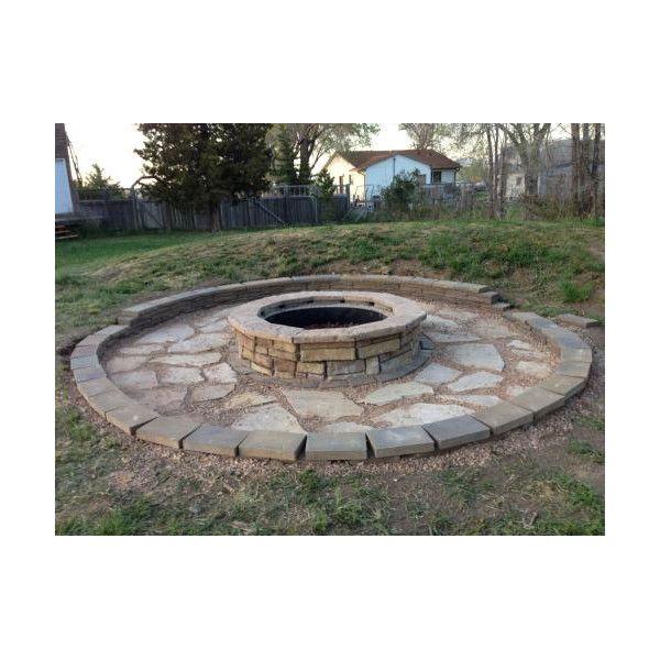 Natural Concrete Products Co Random Stone Fire Pit & Reviews | Wayfair