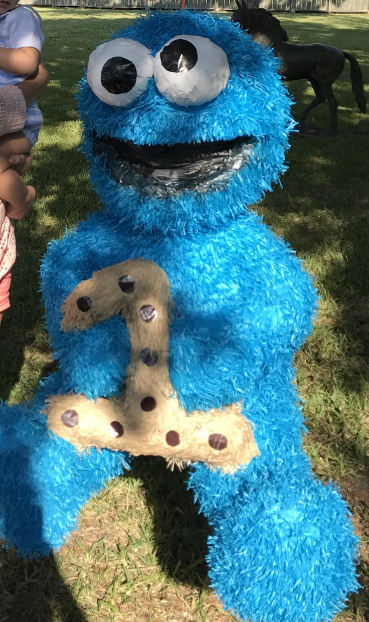 Cookie Monster pinata.