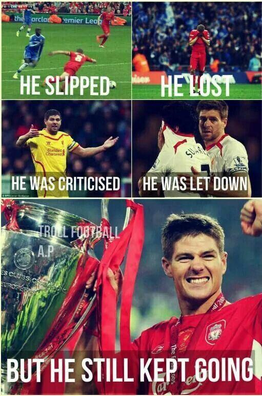 Steven Gerrard - A legend