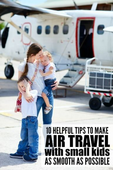 If air travel with small kids is in your future, this collection of practical, helpful tips is just what you need to make it to your destination with your sanity intact. I especially recommend tips 5 and 10!