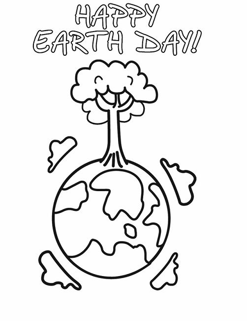 earth day coloring pages to print
