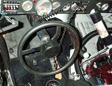 Dale Earnhardt Crash -Inide car after the wreck   Dale ...Dale Earnhardt Bloody Car