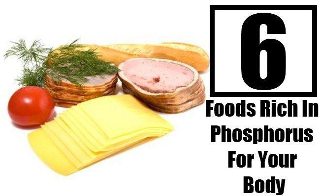 Top 6 Foods Rich In Phosphorus For Your Body