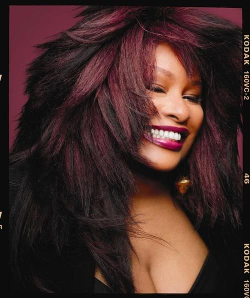 Chaka Khan. ~i Feel For You.  ~Through The Fire.  ~Ain't Nobody.  ~Everlasting Love.  ~Live In Me